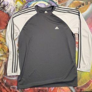 Adidas mens long sleeve athletic tee